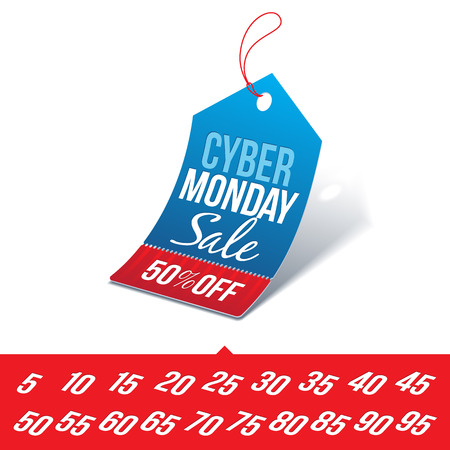 Cyber Monday Sale Price Tag
