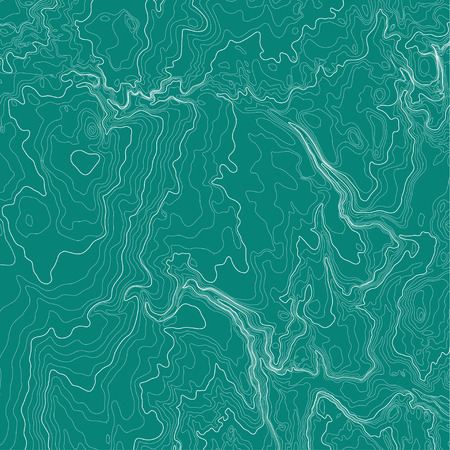topographic: Topographic map background concept in green colors.
