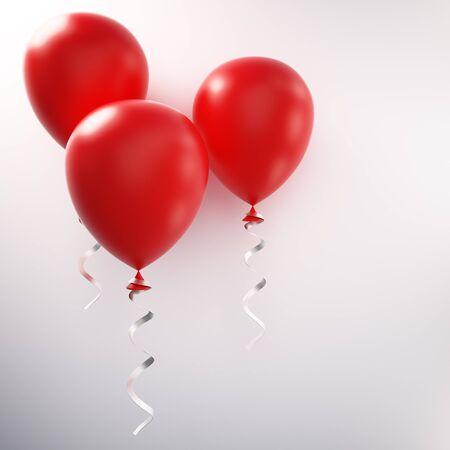 red balloon: red balloon 3d Stock Photo