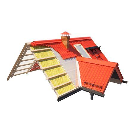 mansard: 3d design of roofs