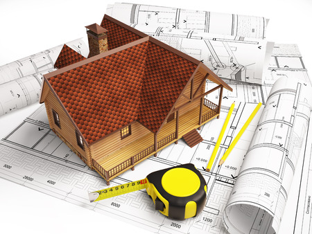architectural drawings: Architectural drawings from the building structure.