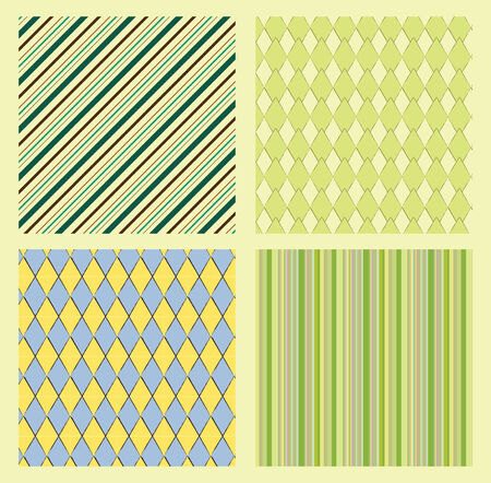 seamless pattern - geometrical