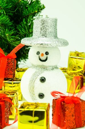 Festival to celebrate Christmas  With gift and snowman  What makes the festival more than a year