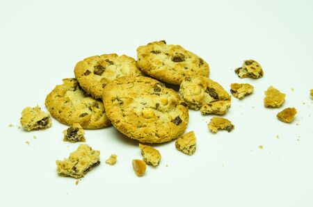 Cookies are eaten in the afternoon  Stock Photo