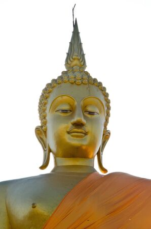 head of buddha in the new looking