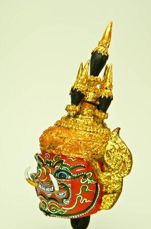 akastalai  character of thai khon Stock Photo