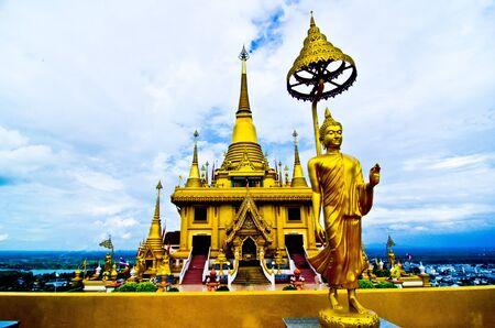 temple at nakornsawan Thailand