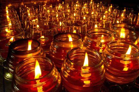lantern at  Chinese  temple