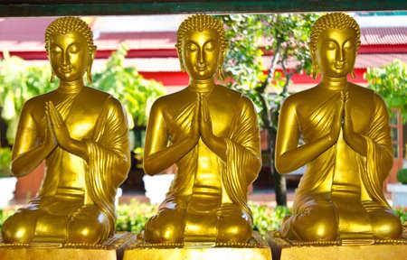 buddhist in the temple pratumtarnee thailand