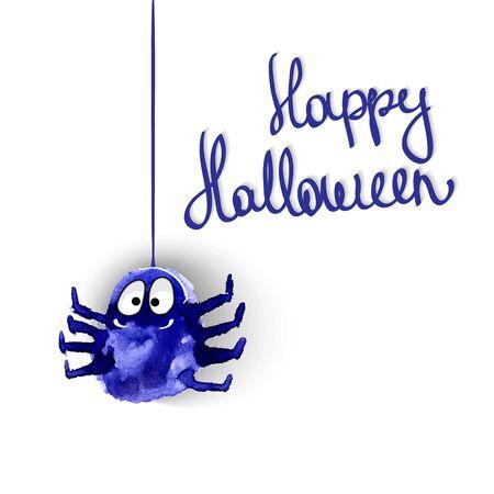 searches: Spyders halloween vector illustration set Illustration