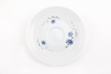 Ornamented plate on white Stock Photo - 8783271