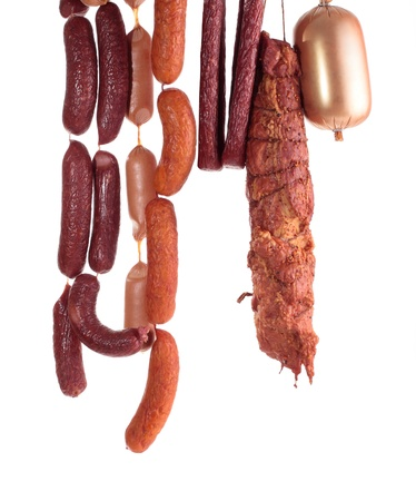 fresh composition with meat photo