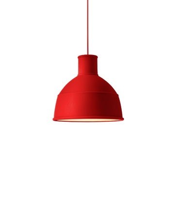 reading lamps: Red  lamp Stock Photo