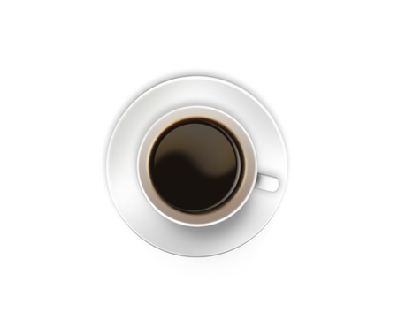 Cup of coffee Stock Photo - 9526874