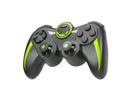 Game pad on white background photo