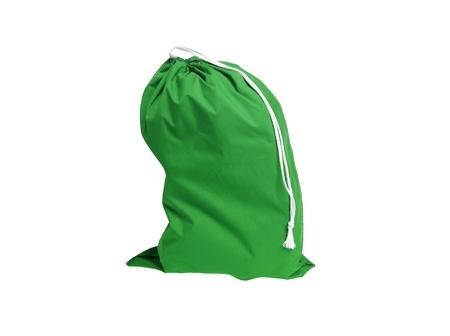 green sport bag photo