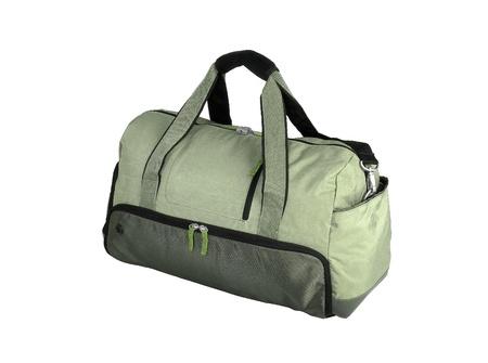 duffle: Green Duffel Bag