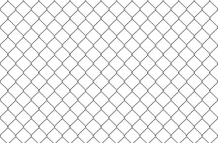 malla metalica: Celos�a acero sobre un fondo blanco Foto de archivo