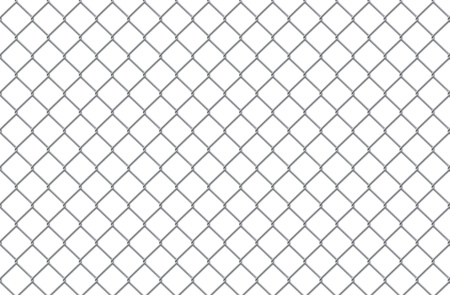 metal grate: Steel lattice on a white background
