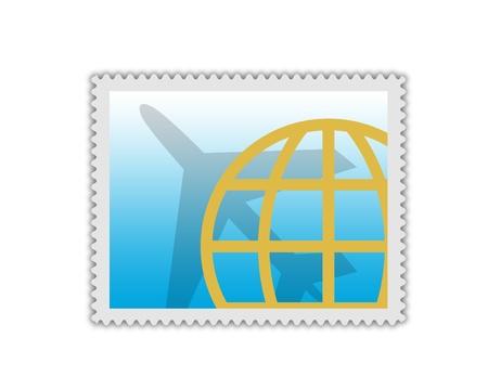 postage stamp photo