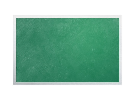 The blackboard in the classroom Stock Photo