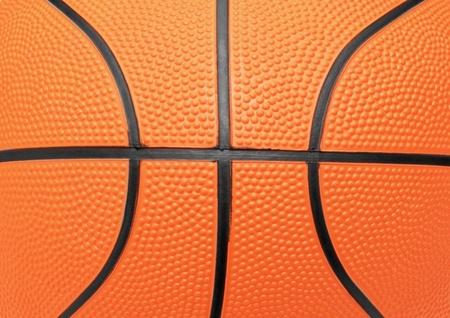 close up photo of a basketball that can be used as a background