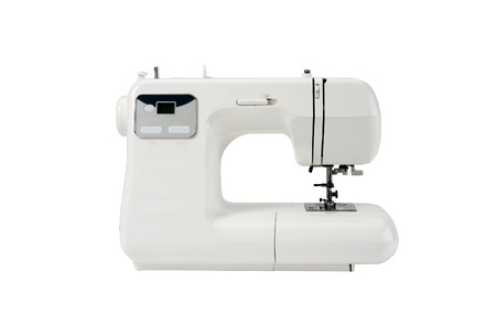 Modern sewing machine photo