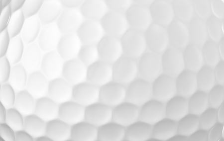 Close up of a golf ball  Stock Photo