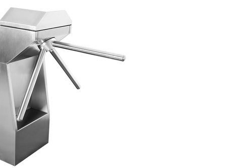 turnstile: turnstile on a white background