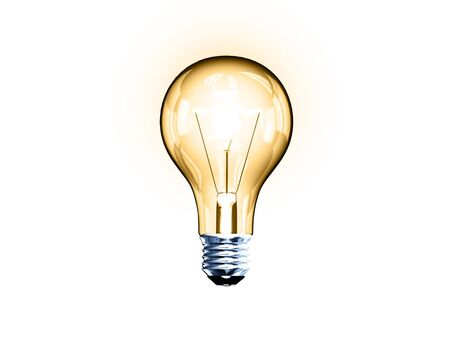 Light bulb, bitmap copy Stockfoto