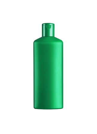 Shampoo bottle isolated on a white background Stock Photo - 10001145