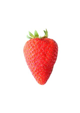 Strawberry isolated on a white background photo