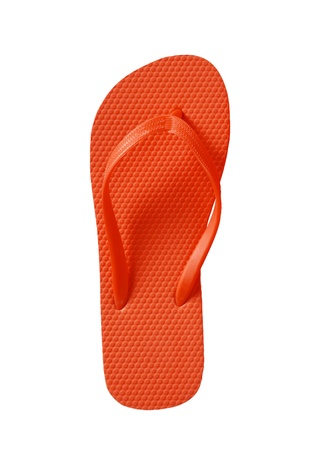 sandals isolated: Summer Flip Flop Sandals isolated