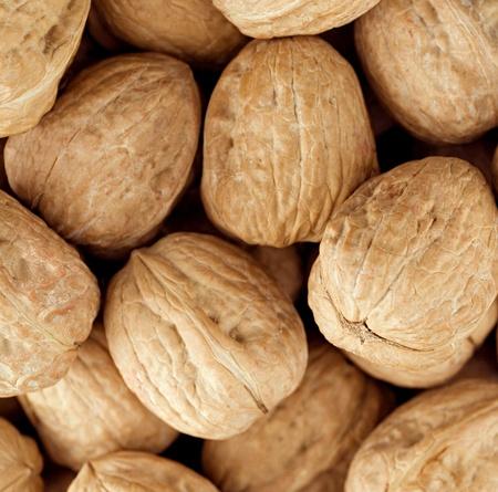 walnut group close up , background Stock Photo - 10351662