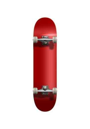red Skateboard photo