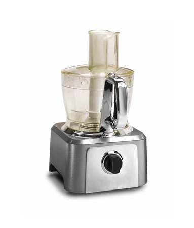 Food processor isolated on a white background photo