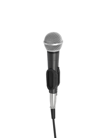 microphone on a white background Stock Photo - 10783944