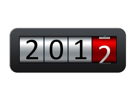 New 2012 year background. Stock Photo - 11772511