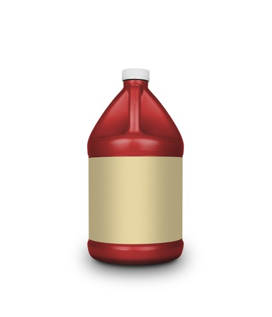 Oil canister isolated on a white background photo