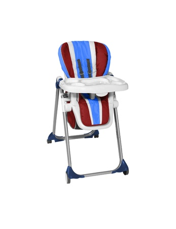 Baby High Chair with Tray photo