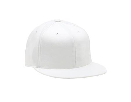White baseball cap photo