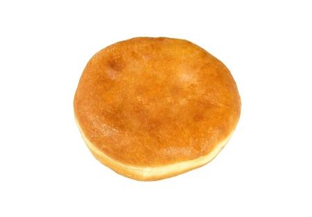Homemade pasty isolated photo