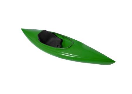 kayak isolated on white background Stock Photo