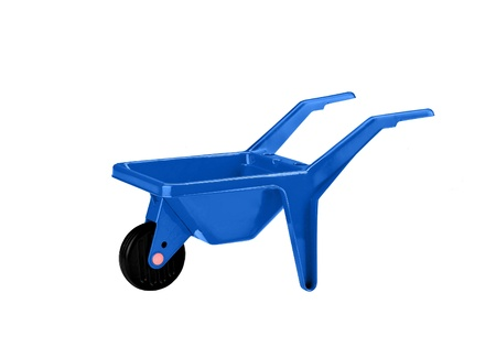 handtruck: isolated handtruck on white background industry suff