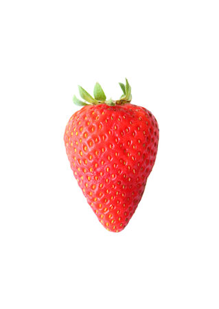 Strawberry isolated on a white background for you photo