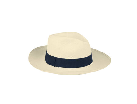 Summer panama straw hat photo