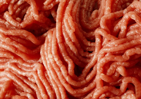 Raw minced beef close-up for you and ur web photo
