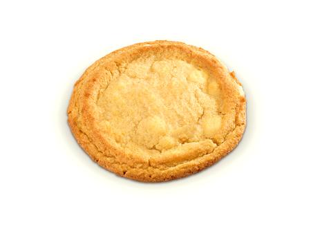 slits: whole apple pie isolated on white background Stock Photo