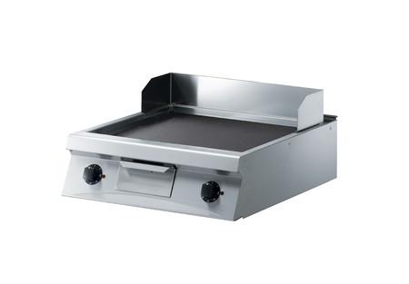splashback: meat cooker isolated on a white background Stock Photo