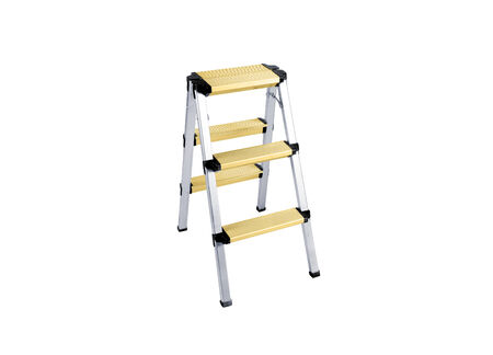 Stepladder isolated on a white background for you photo